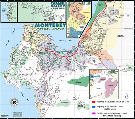 california map monterey county monterey area map monterey ca mappery