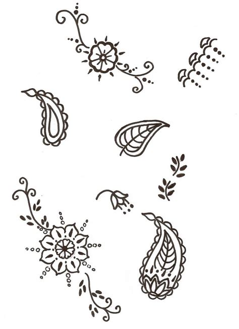 henna tattoo stencils amazon 25 best ideas about simple henna patterns on