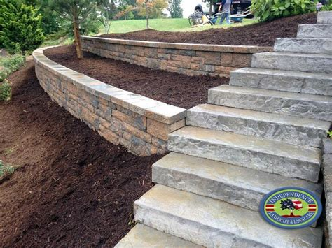 Retaining Wall Stairs Design 17 Best Images About Home Ideas On Pinterest Countertops Retaining Wall Blocks And Undermount