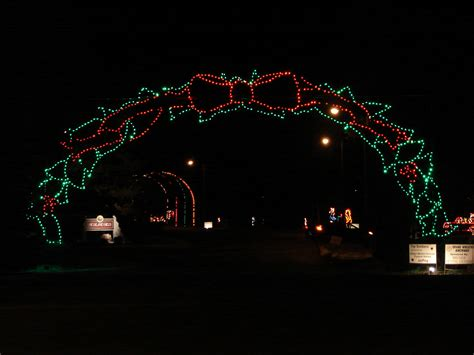 marion indiana lights illuminate your at marion s walkway of lights
