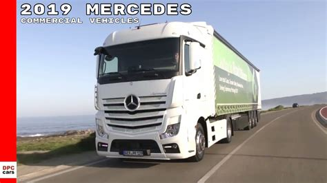 Mercedes Truck 2019 by 2019 Mercedes Commercial Truck Vehicles Lineup