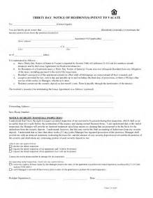 30 day notice to vacate california template notice template category page 1 efoza