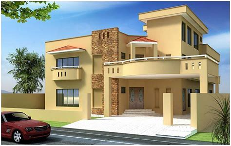 front elevations of indian economy houses indian house kanal 10 marla plan 3d front