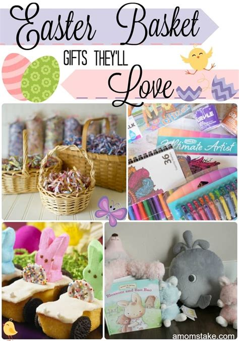 easter gifts 2017 easter basket gifts they ll love a mom s take