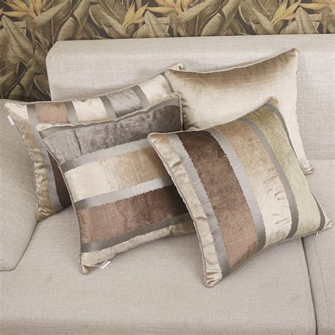 couch covers for couches with pillow backs pillow cover almofada almofadas decorativas elegant stripe