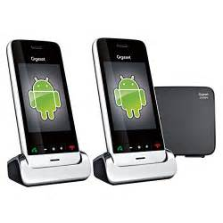 telephone sans fil duo design high tech t 233 l 233 phones fixes et r 233 sidentiels d 233 couvrir