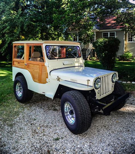 Woody Jeep Cj 3a Quot Willys Woody Quot A Labor Of