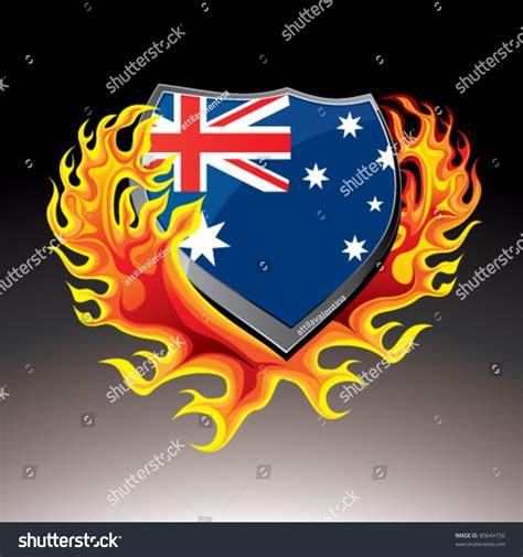 Email Address Search Australia Australian Shield In Stock Vector Illustration 80644750