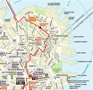 Boston Freedom Trail Map by Globe Public Restrooms Sparse In North End On Freedom
