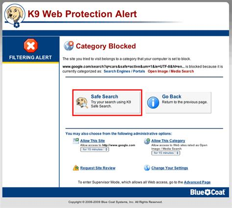 On Search Enforce K9 Safe Search K9 Web Protection Free Filter And Parental