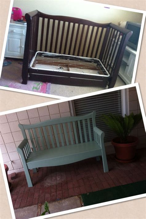 baby crib bench best 25 old baby cribs ideas on pinterest repurposing