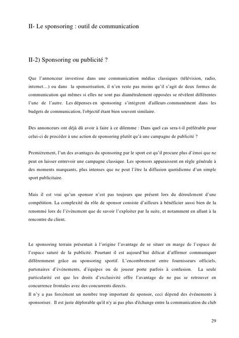 Demande De Sponsoring Lettre Lettre Type Sponsoring