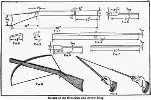 making blueprints how to make a crossbow out of wood ency123