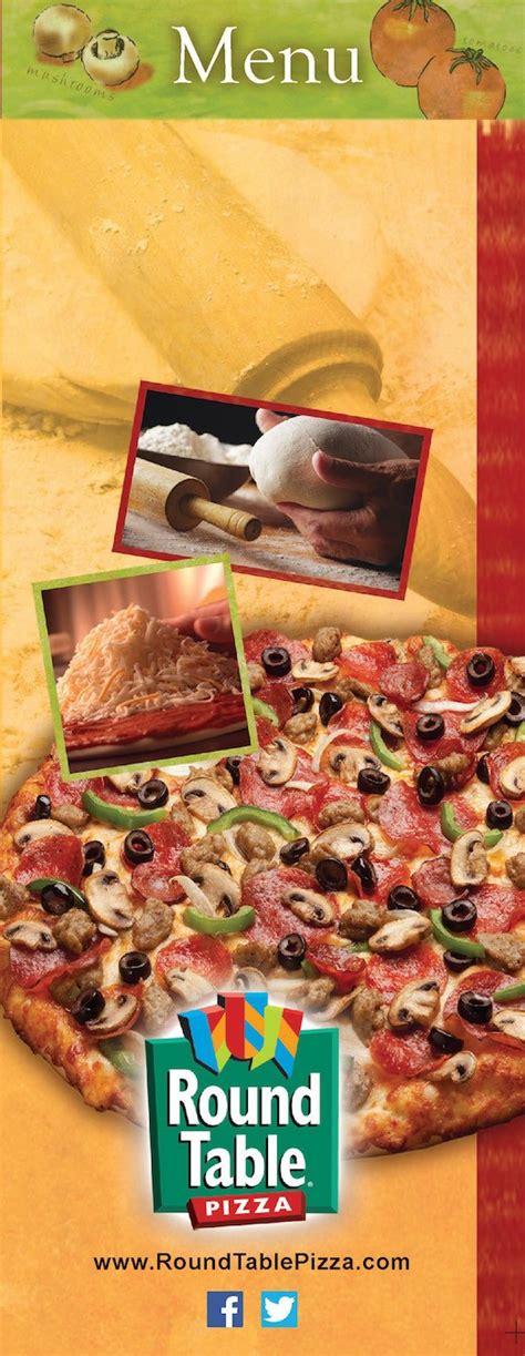 round table pizza menu prices