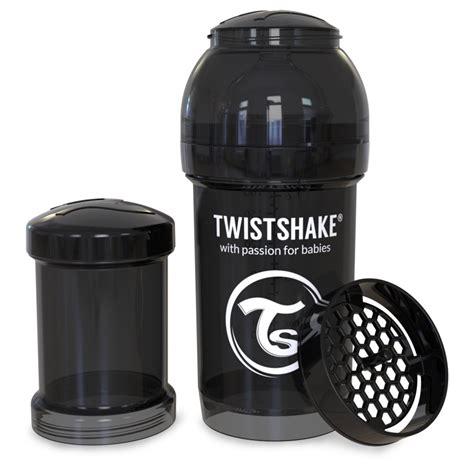 Twistshake Anti Colic 180 Ml Black twistshake all in one anti colic baby bottle 180ml