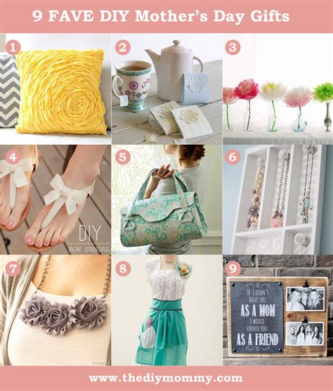 mother gifts diy mother s day gift ideas to sew or craft the diy mommy