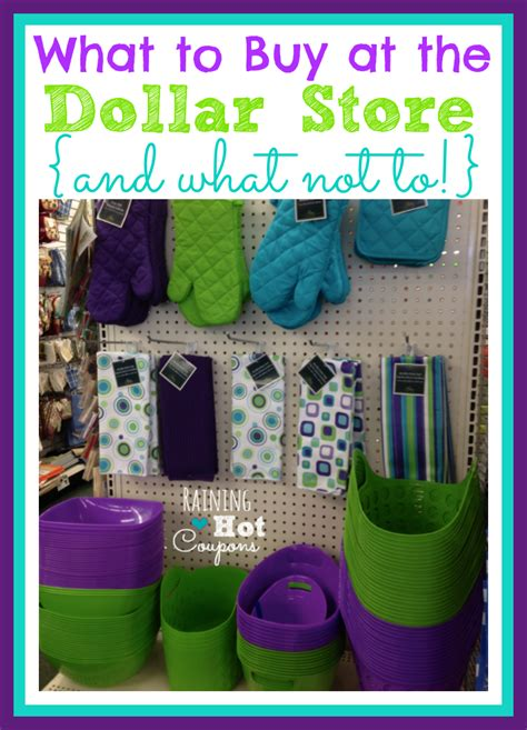 Things To Buy From An Store by What To Buy At The Dollar Store And What Not To Buy