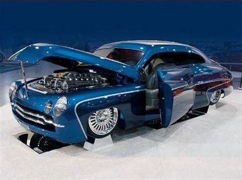 old custom cars custom is a 1950 mercury called the