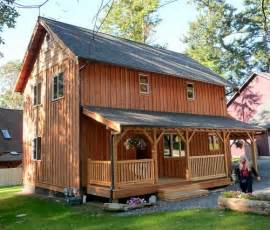 2 Story Cabin Plans Universal 20 Wide 2 Story Cottage Plans