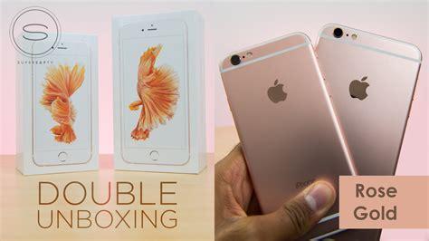 Verus Iphone 6 Plus6s Plus Verge Gold iphone 6s vs iphone 6s plus gold dual unboxing