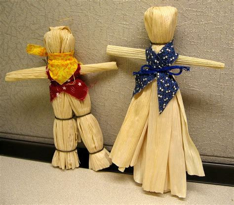 what were corn husk dolls used for how the west was on the frontier