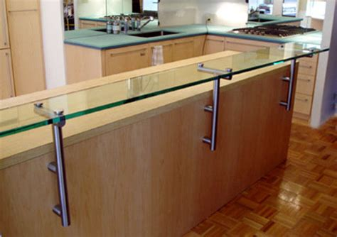 Glass Countertop Prices by Help With Cost Of Custom Stainless Steel Brackets For