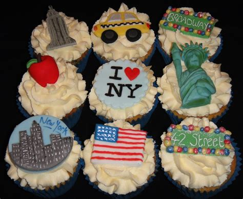 New York Themed Cake Decorations by New York Themed Cupcakes Cakecentral