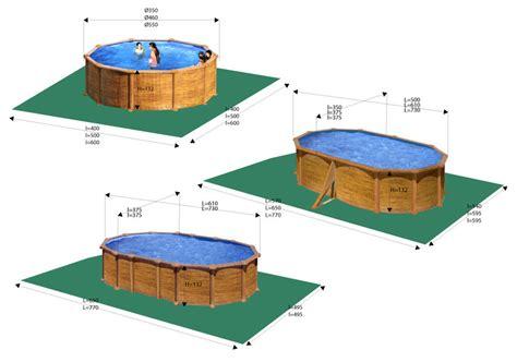 Bien Amazon Piscine Hors Sol #2: Kit-piscine-hors-sol-mauritius-acier-aspect-bois-ronde-350-x-h132-cm-piscine-center-1480676242.jpg