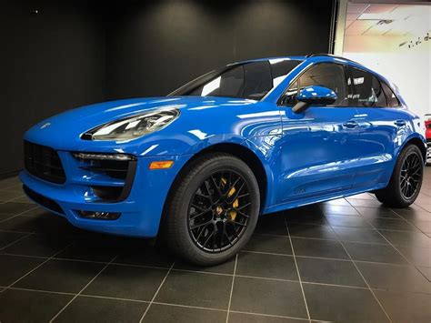 voodoo blue porsche stunning paint to sle voodoo blue porsche macan gts available today byers imports