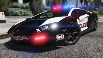 Gta 5 Cars Lamborghini Lamborghini Aventador Pursuit Add On