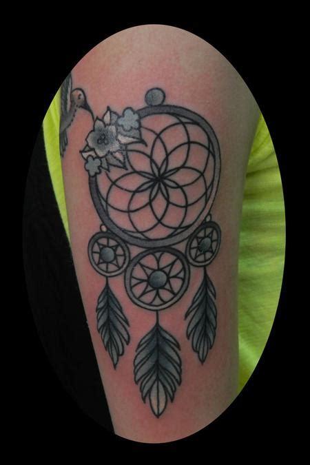 Tattoo Dreamcatcher Old School | dreamcatcher by james dean tattoonow