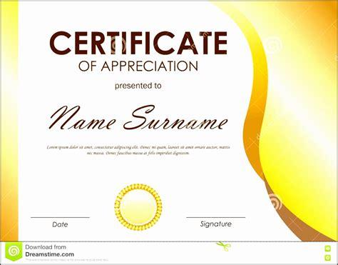 selecting certificate template word online for diy certificate