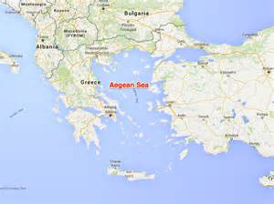 Aegean Sea On World Map by World S Most Tensest Seas Business Insider
