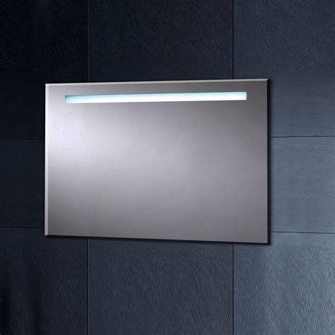 illuminated bathroom mirror phoenix illuminated heated mirror with shaver socket 900mm