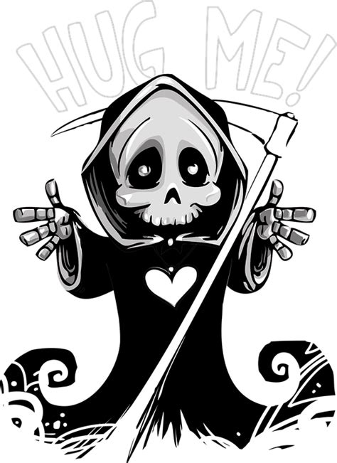Death Cute Mascot - Free vector graphic on Pixabay