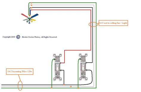 3 sd ceiling fan wiring diagram fan