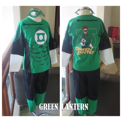 Kaos Superman Green kostum anak green lantern superheroku