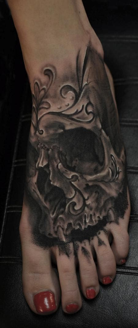 day of the dead skull tattoos the map