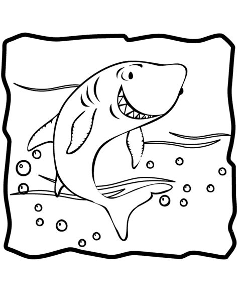 shark coloring pages free printable free coloring pages of shark pictures
