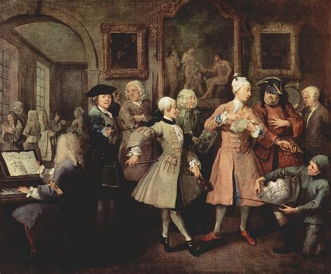 8 Paintings By Hogarth by The Progress Of Progress Image Object Text