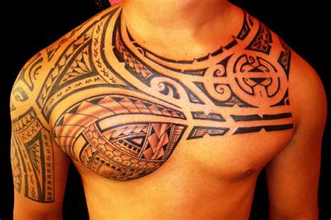 25 superb hawaiian tribal tattoos creativefan