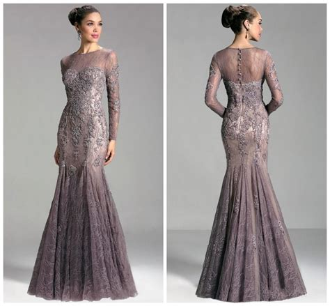 design dress terkini 2015 high neck see through sexy lace mother of the bride