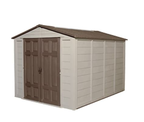 Resin Storage Sheds Suncast 8x10 Resin Shed A01b11c01 Storage Sheds Direct