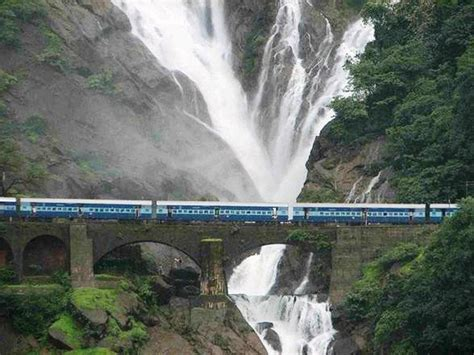 Travel Trip Journey: Dudhsagar Falls Goa India