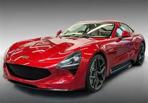 Tvr Prototype Tvr Returns With 500 Horsepower Griffith Sports Car