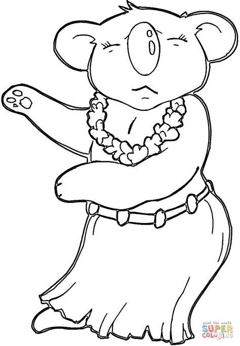 christmas koala coloring page hawaiian koala coloring page free printable coloring pages