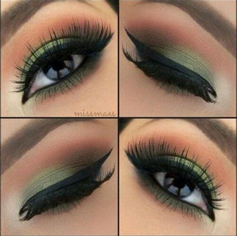 tutorial eyeshadow green top 10 simple smokey eye makeup tutorials for green eyes
