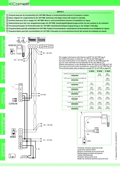 comelit 1602 wiring diagram 27 wiring diagram images