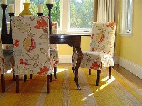 Dining Room Chair Slipcovers With Arms by Fabric Chair Covers For Dining Room Chairs Home