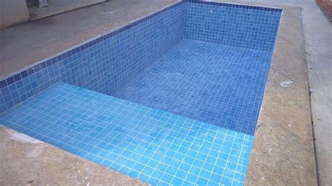 azulejo piscina azulejo para piscina cor mesclado itapu 227 azul 10x10
